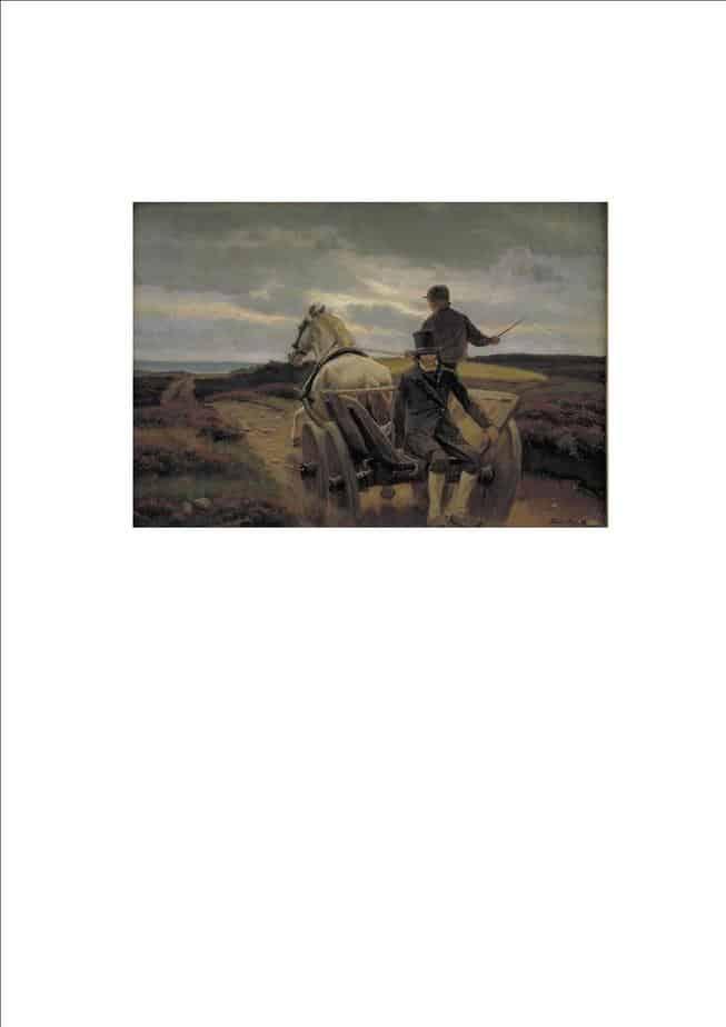 Hans Smidth. Hjemkørsel 1895